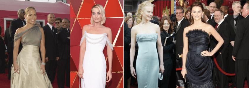 Karl Lagerfeld y sus mejores looks para Chanel en los Oscars