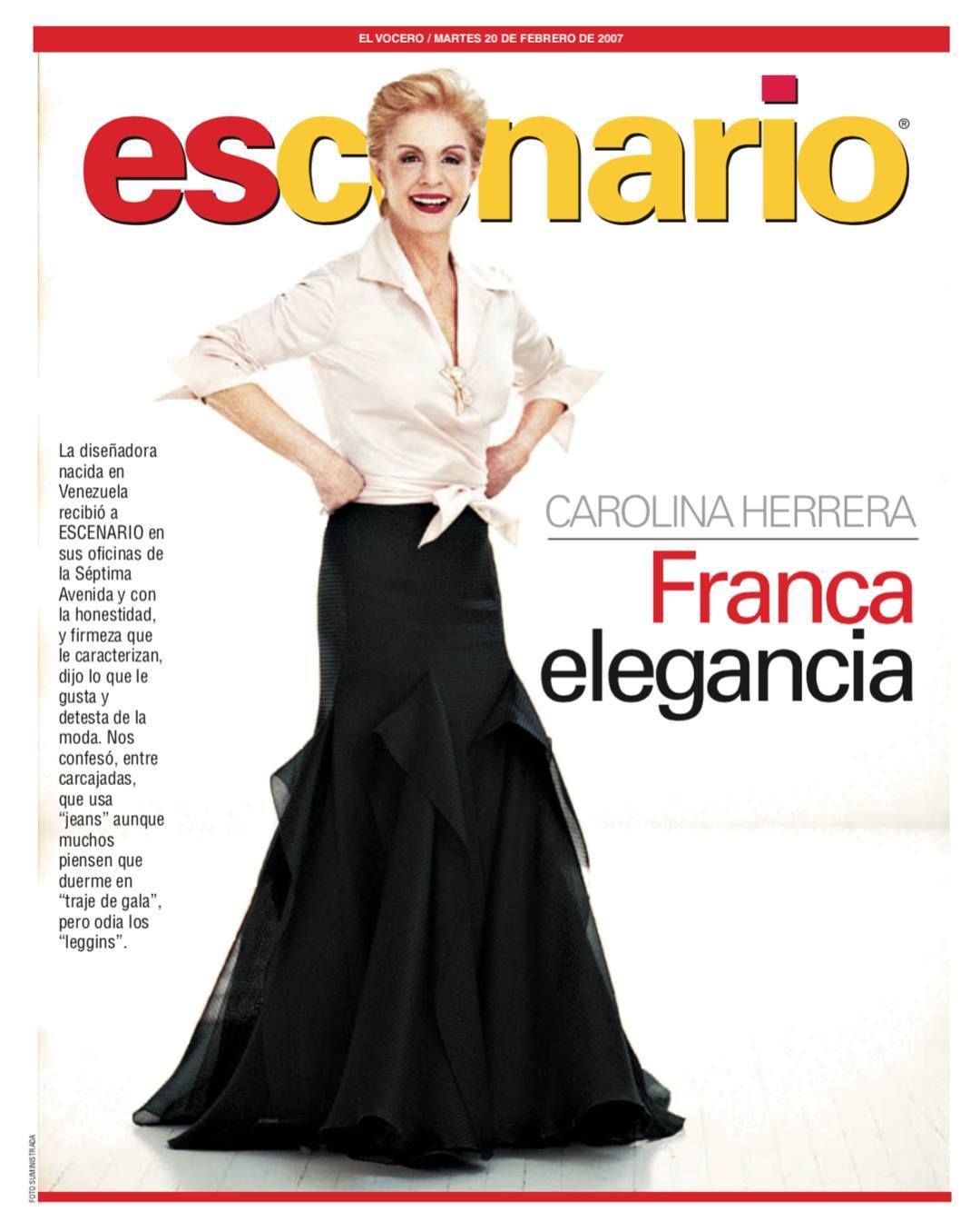 Carolina Herrera Juan En Vitrina El Vocero