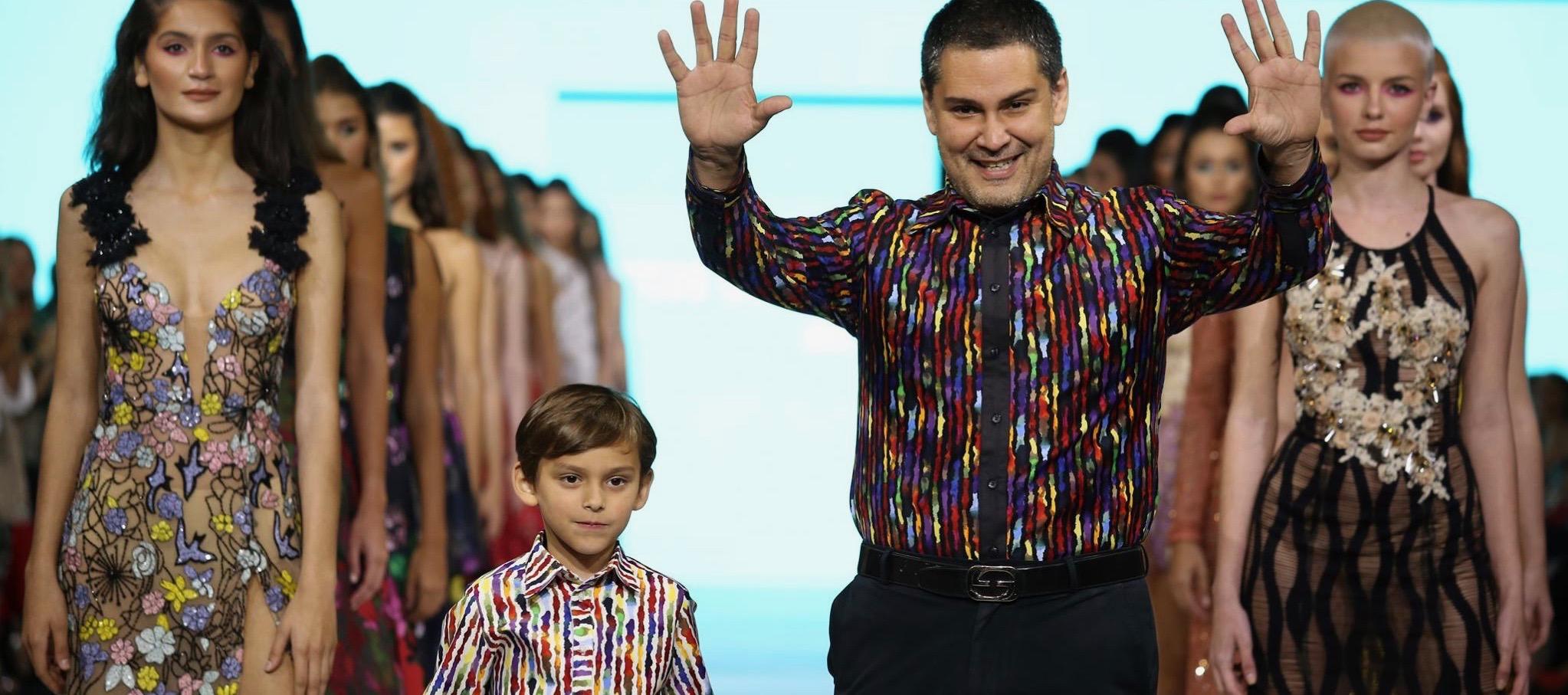 Marcos Carrazana crece y ahora también diseña para el caballero moderno