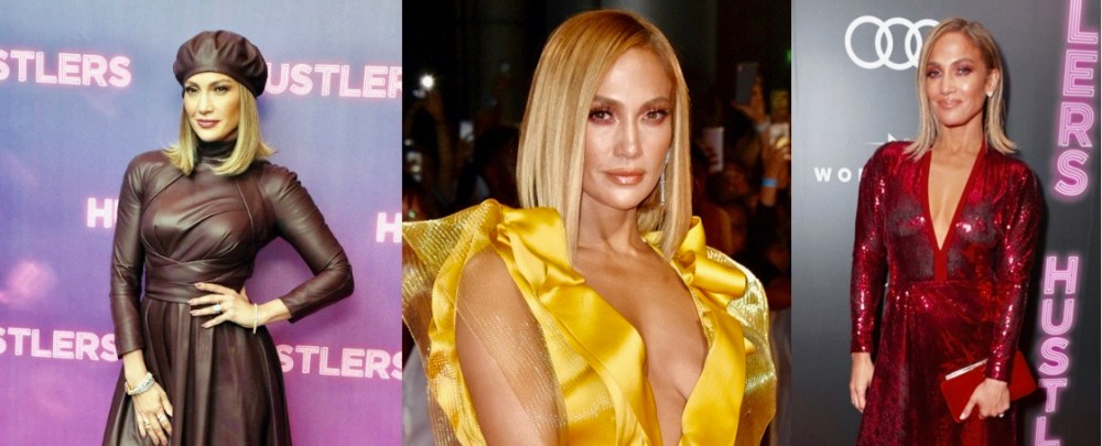 Jennifer Lopez deslumbra durante la premier de 'Hustlers'