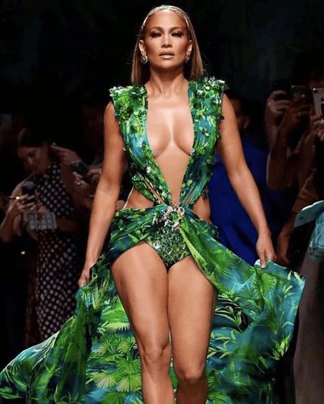 JLo Jungle Dress