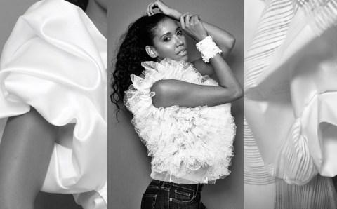 La blusa blanca, protagonista de una colaboración de moda única