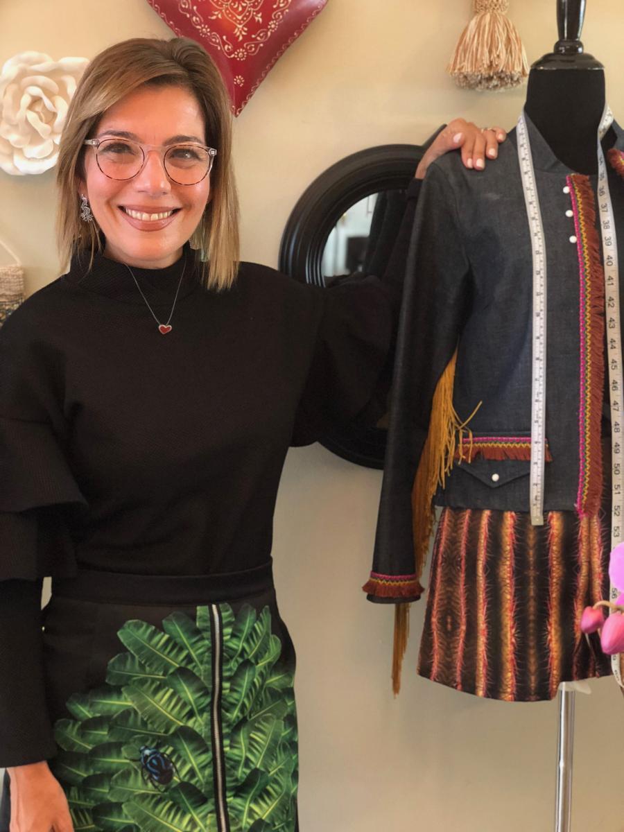 Mari Olivieri, diseñadora de 'Demasiado'