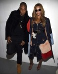 Jay Z & Beyonce after the show
