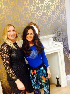 Geordie Shore's Chantelle Connelly with Tracey Jones