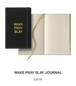 Lemonade Anniversary Merch Slay Journal
