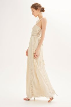 Topshop Bridal Collection Fashion Voyeur Bridesmaid Ivory Cross Neck
