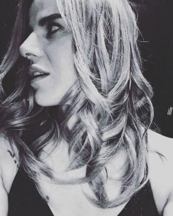 Pixie Hair B&W