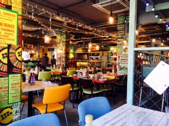 Turtle Bay Middlesbrough Dining Area