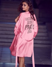 VS Fashion Show Pink Dressing Gown 3