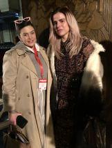 Pixie Tenenbaum & Steph at Apu Jan FW18 London Fashion Week
