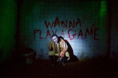 Scream Factory 2018 Kirkleatham Halloween Horror Nights, jigsaw Movie Sequence. fashion Voyeur Blog