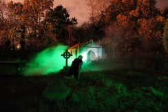 Scream Factory 2018 Kirkleatham Halloween Horror Nights, Graveyard zombie sequence. fashion Voyeur Blog