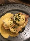 Beadnell Towers Hotel Eggs Benedict