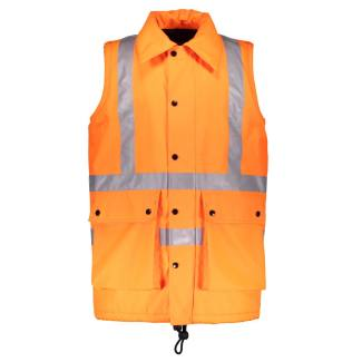 Hi-Viz railway workers waistcoat, by Burberry, 2018. ©Westminster Menswear Archive