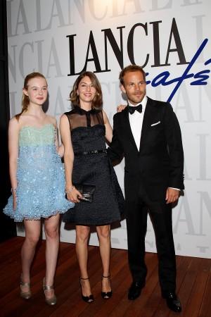 Elle Fanning, Sofia Coppola and Stephen Dorff