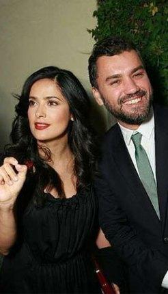 Salma Hayek and Eduardo Castillo