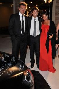 Vincent Cassel, Francois Olivier and Arianna Martina Bergamaschi