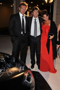 Vincent Cassel, Francois Olivier and Arianna Martina Bergamaschi