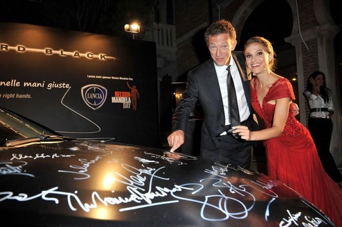 Vincent Cassel and Natalie Portman