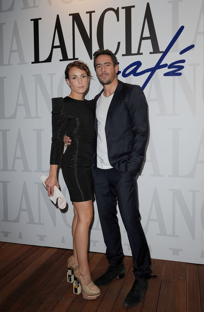 Noomi Rapace and Ola Rapace