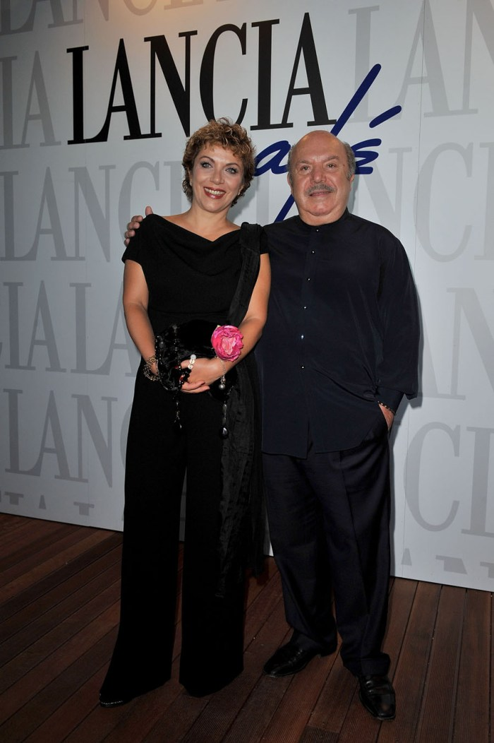 Lino Banfi and Rosanna Banfi