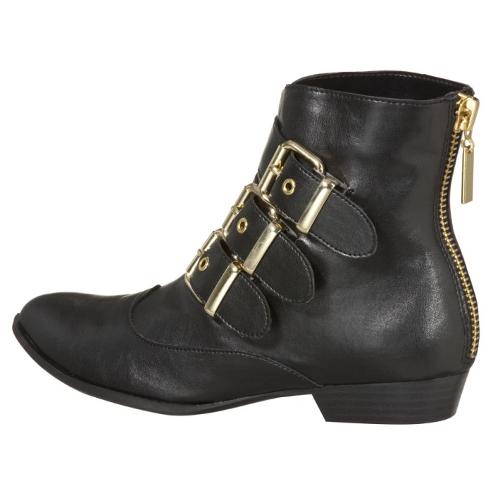 Dolce Vita for Target Buckle Ankle Boots