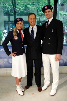 Heather Mitts, David Lauren and Tim Morehouse