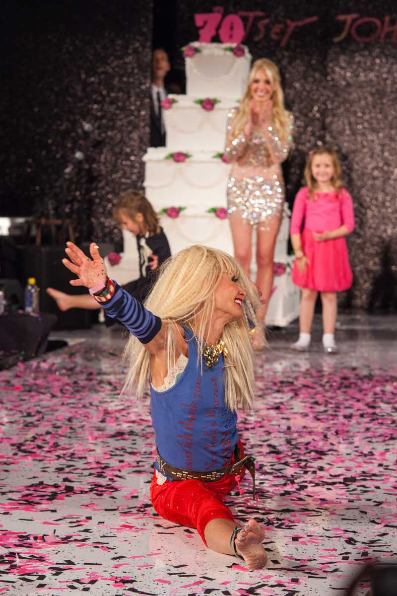 Betsey Johnson Spring 2013 Fashion Show & 70th Birthday Bash
