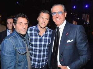 David Littman, Sean Avery and Angelo Galasso