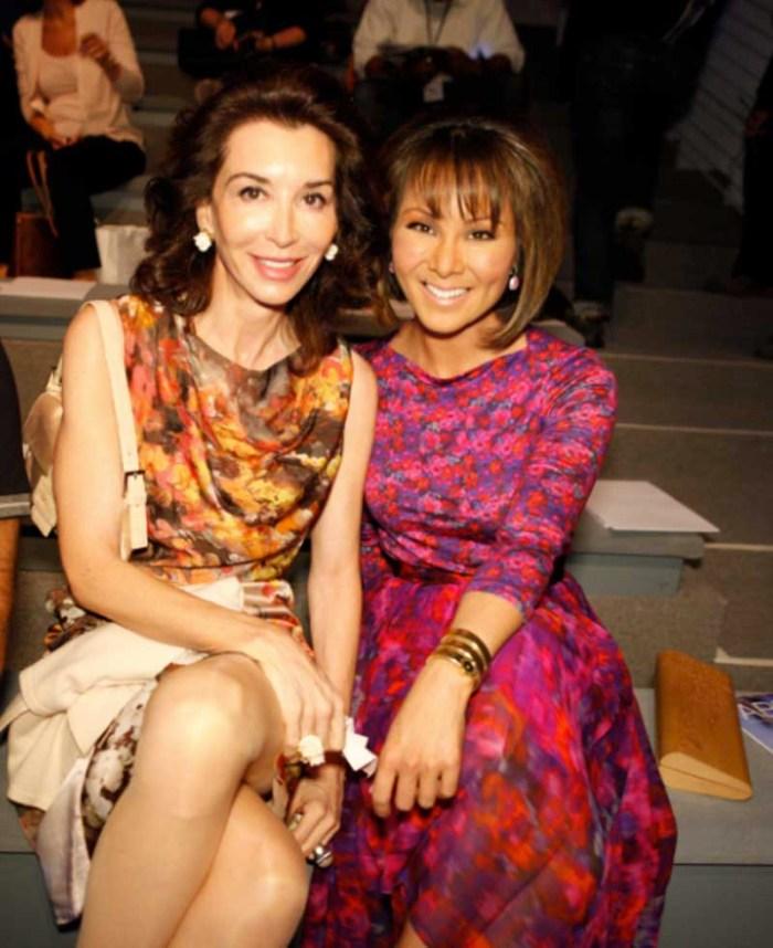 Fe Fendi and Alina Cho