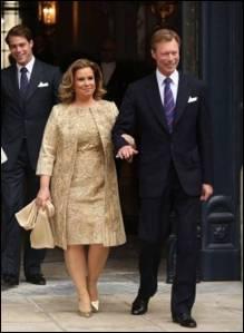 HRH Grand Duchess Maria Teresa of Luxembourg