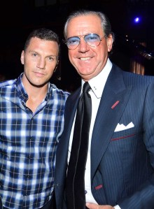 Sean Avery and Angelo Galasso