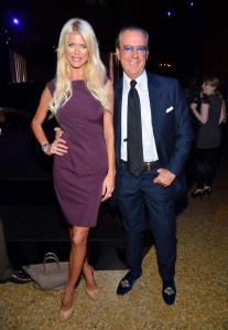 Victoria Silvstedt and Angelo Galasso