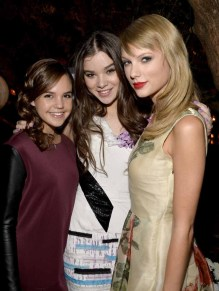 Bailee Madison; Hailee Steinfeld; Taylor Swift