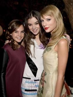 Bailee Madison; Hailee Steinfeld; Taylor Swift