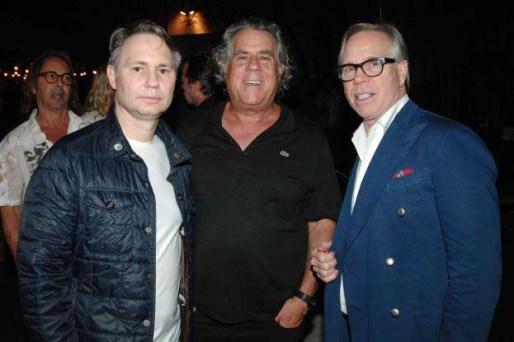 Jason Binn, Alan Lieberman, Tommy Hilfiger