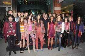 Robert Cavalli with Just Cavalli models