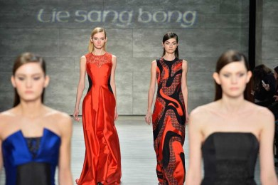 Lie Sang Bong Fall-Winter 2014 Collection Show - Runway