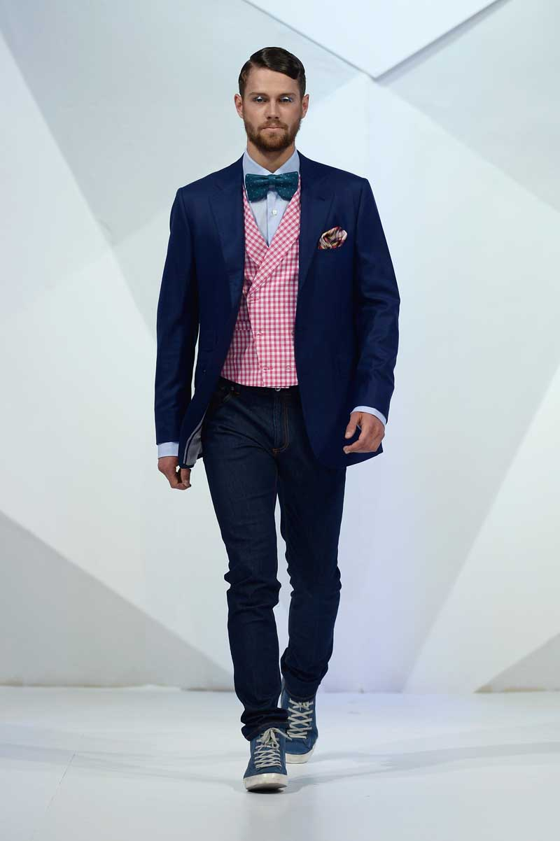 Velsvoir X Patrick Hellmann - Runway - Fashion Forward Dubai April 2014