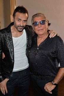 Fabio Novembre with Roberto Cavalli