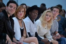 Lindsay Lohan, Labrinth and Pixie Lott