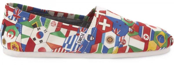 Toms Shoes World Flags