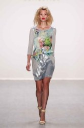 Anja Gockel Show - Mercedes-Benz Fashion Week Spring/Summer 2015