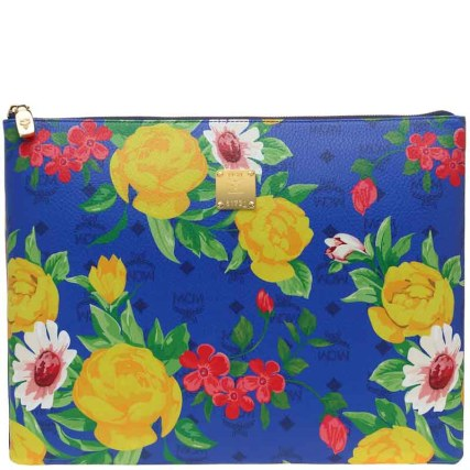 Blume Paradiso Flower Pouch Blue 2 (1)