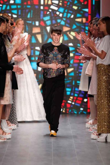 Kilian Kerner Show - Mercedes-Benz Fashion Week Spring/Summer 2015