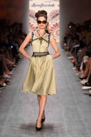 Lena Hoschek Show - Mercedes-Benz Fashion Week Spring/Summer 2015