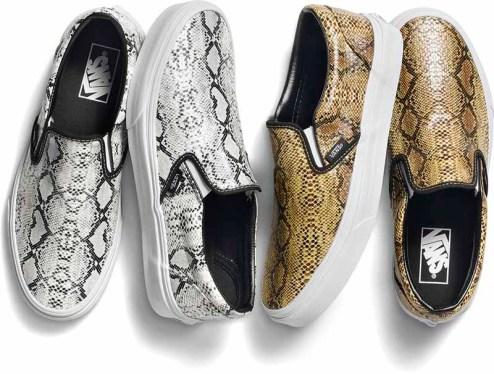 Vans Original Classic Slip-On_Leather Snake Pack