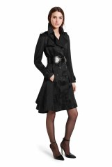 The ultimate throw-on-and-go piece, this trench coat in textured jacquard is effortlessly elegant, with a flattering peplum back design detail. Add the thick textured belt to create a look with structured appeal. LOOK 11 Trench Coat in Black Jacquard, $89.99** Croc Effect Belt in Black, $29.99** Ankle Strap Shoe in Black, $39.99* *TARGET.COM EXCLUSIVE ** AVAILABLE GLOBALLY ON NET-A-PORTER.COM
