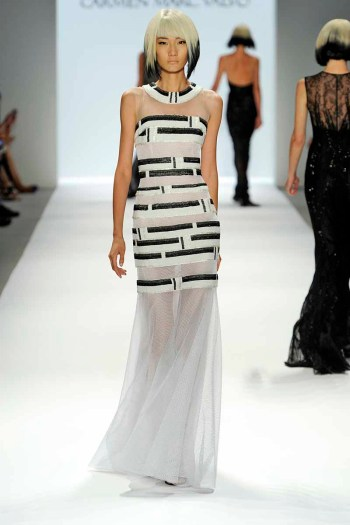 Carmen Marc ValvoRTW Spring Summer 2014 New York Fashion Week September 2013